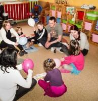 Zajęcia projektowe w Domu Matki i Dziecka