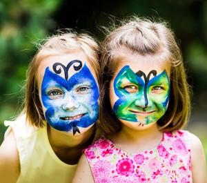 dzieci_pomalowane