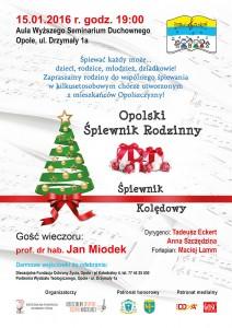 Opolski Śpiewnik Rodzinny - kolejna edycja